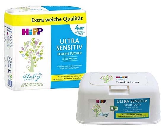 HiPP Bio Baby Billendoekjes Ultra Sensitive
