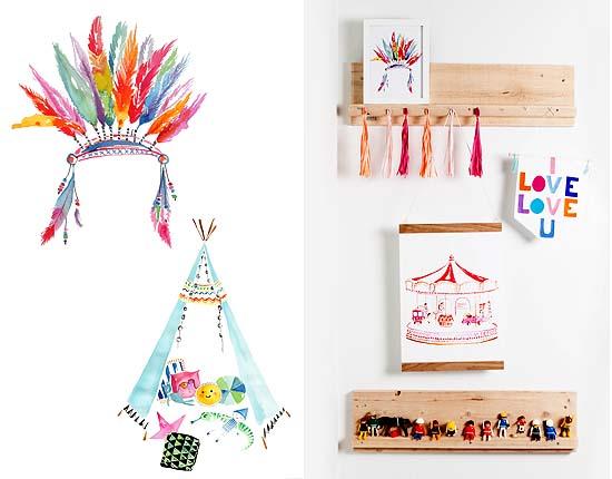 Top 9 muur accessoire voor kids