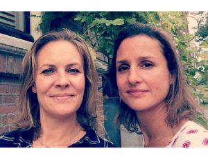 Lisette Scheffer en Beline Jurgens-de Greve