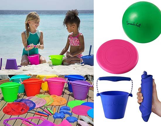 Scrunch Bucket, Bal en Frisbee Funkit World