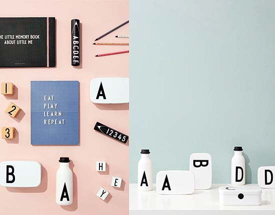 design letters personal lunch box