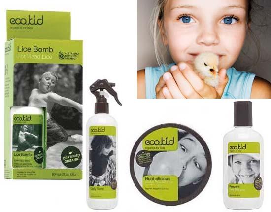 Ecokid Biologische haarproducten tegen hoofdluis