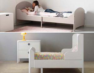Trogen en Busunge doorgroeibed van Ikea