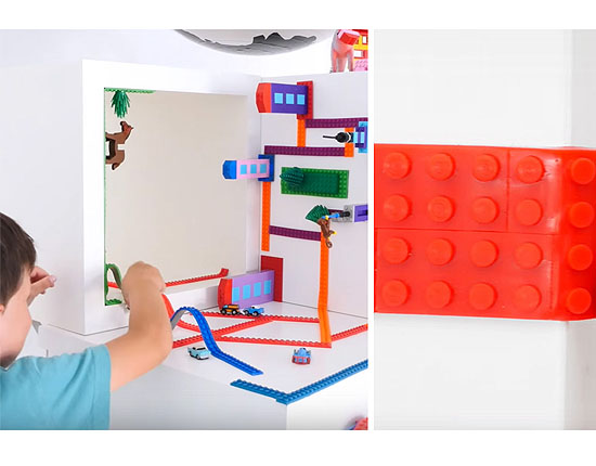 Flexibel Lego Tape Eindeloos Bouwen Voor Lego Fans Zelfs Op Zn Kop