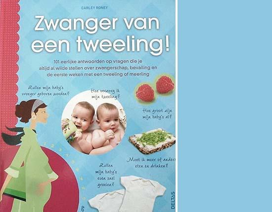 Boek Zwanger van een tweeling Van Carley Roney