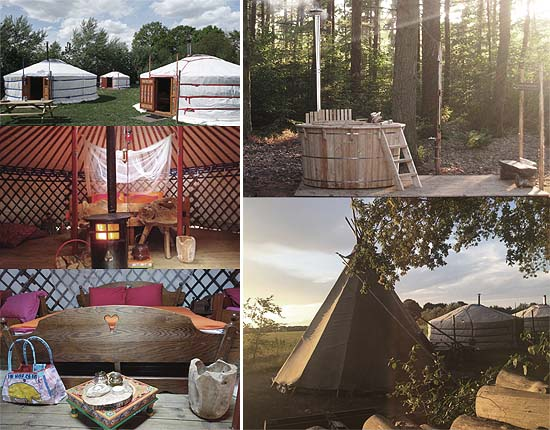 Glamping 't Buitenland