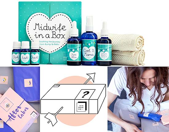 Mommy Box voor rondom de Bevalling