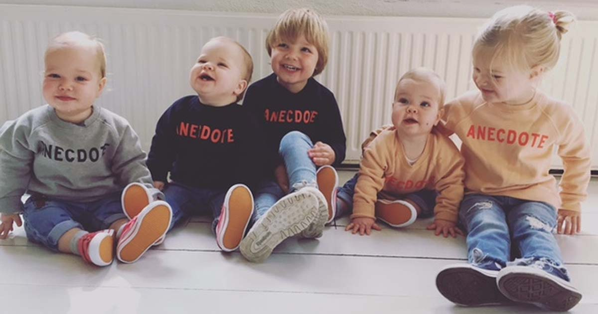 Mommy Manon Proper van Meerlingen van 5 kids