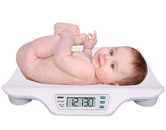 Baby weegschaal Alecto