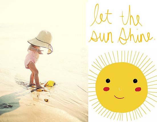 Verantwoord zonnen met kids